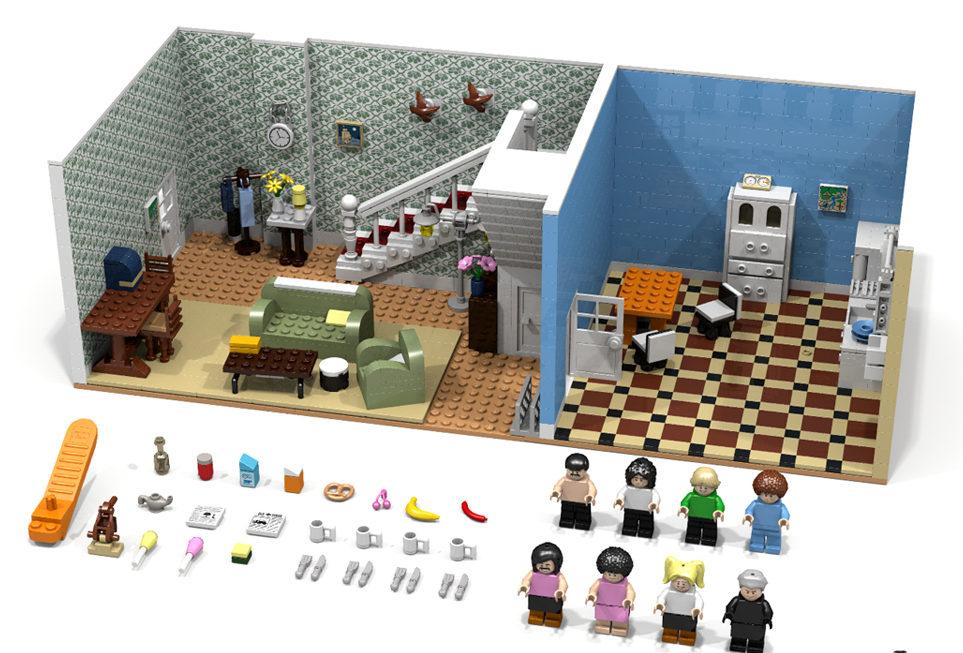 LEGO Ideas - Queen: I want to break free