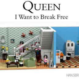 LEGO Ideas Queen_ I want to break free