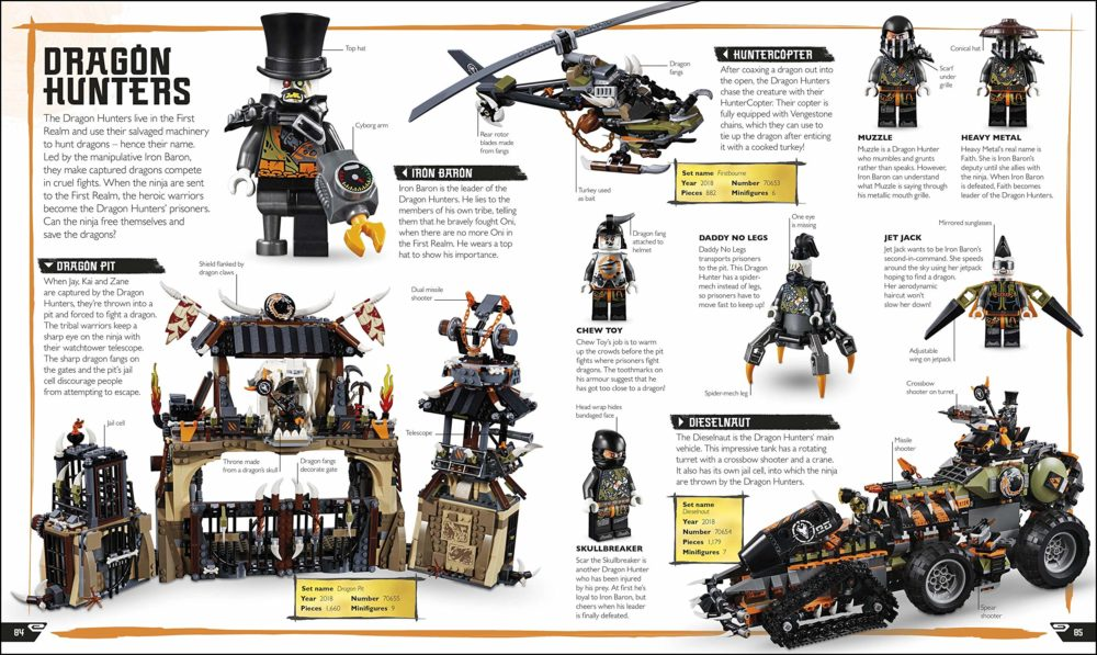 LEGO NINJAGO Visual Dictionary New Edition