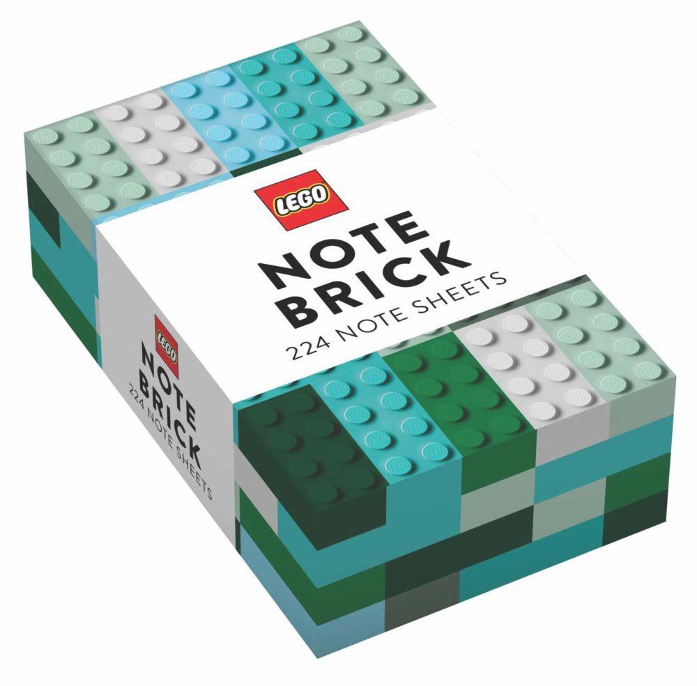 LEGO Note Brick (Blue-Green)