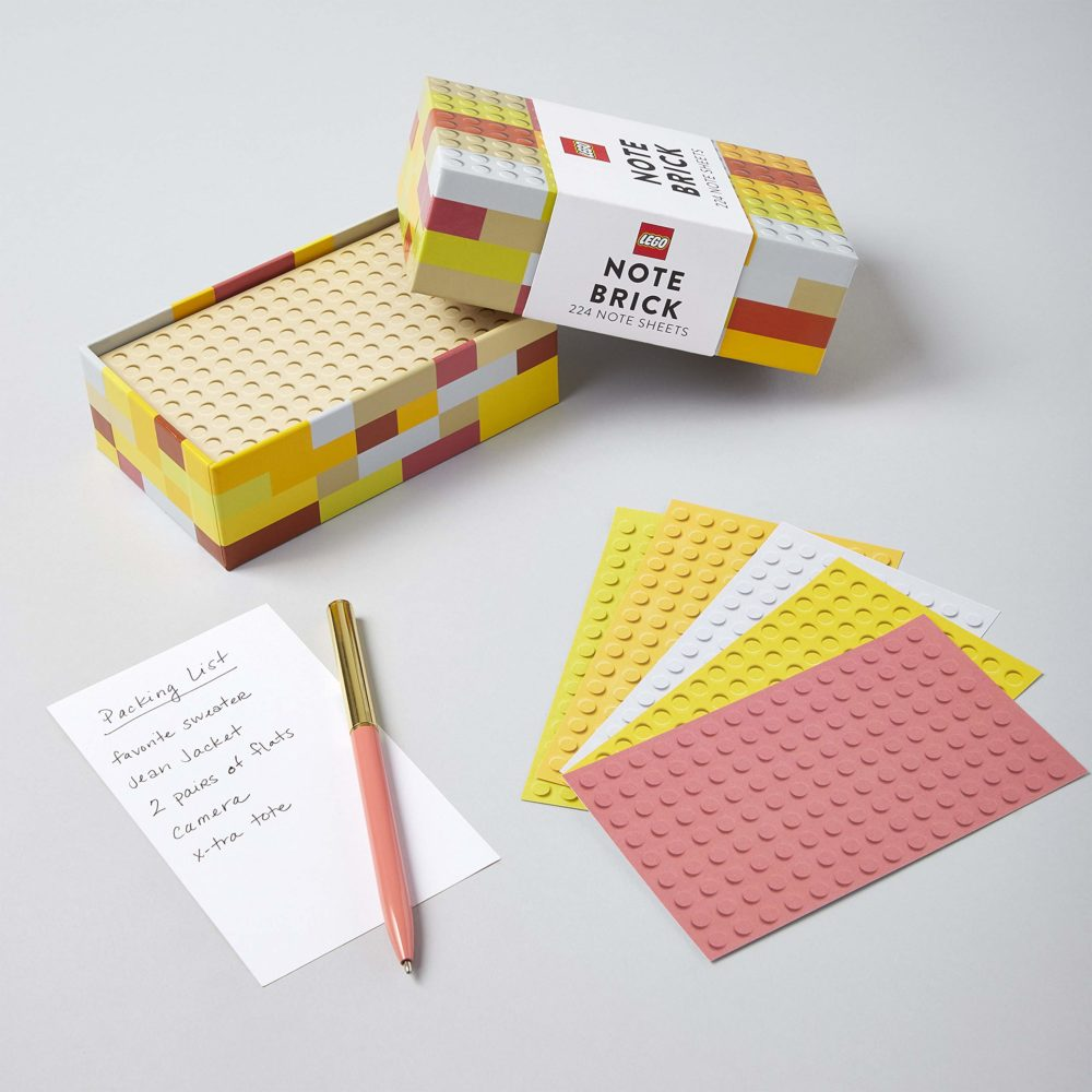 LEGO Note Brick (Yellow-Orange)