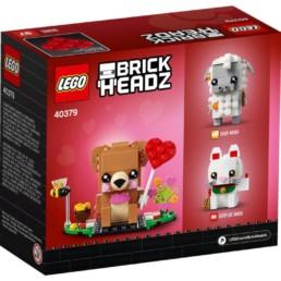 LEGO BrickHeadz 40379 Valentine's Bear