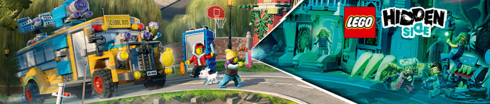 LEGO Hidden Side Banner