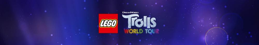 LEGO Trolls World Tour Banner