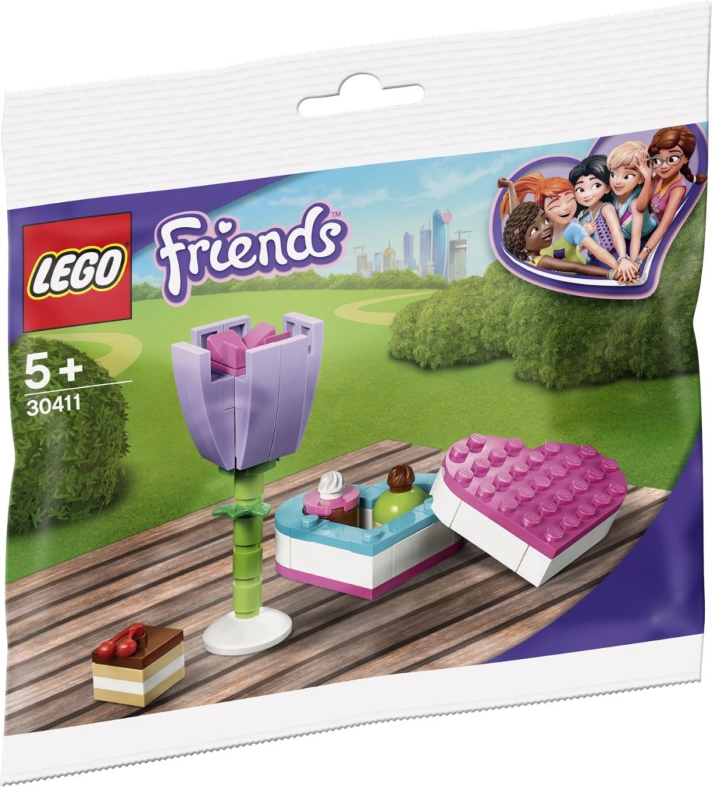 LEGO 30411 Chocolate Box & Flower