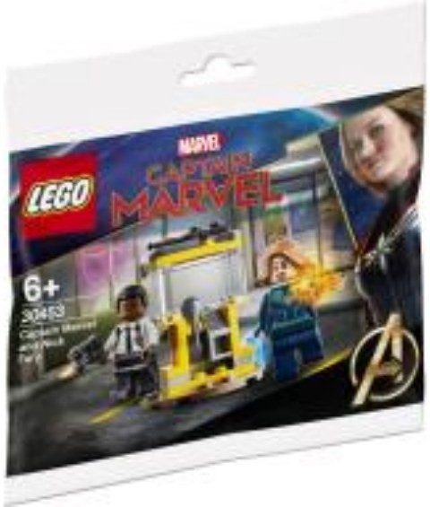 LEGO 30453 Captain Marvel and Nick Fury