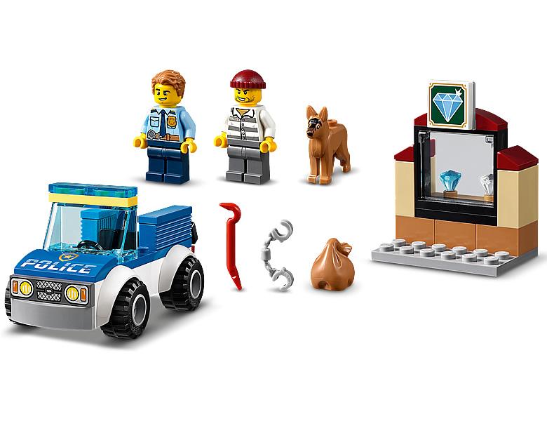LEGO City 60241 Police Dog Unit
