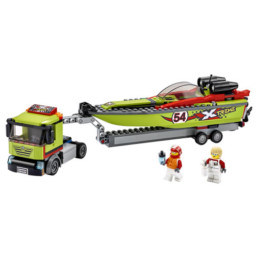 LEGO City 60254 Race Boat Transporter
