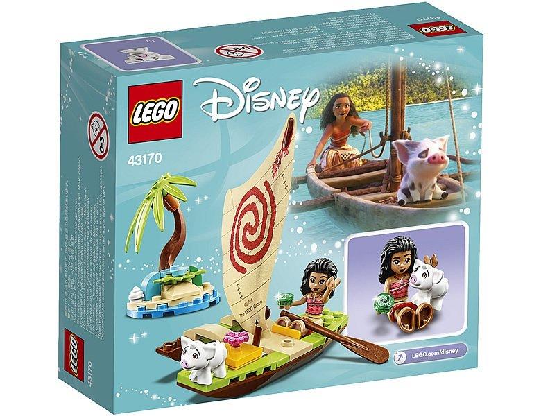 LEGO Disney 43170 Vaiana's boat
