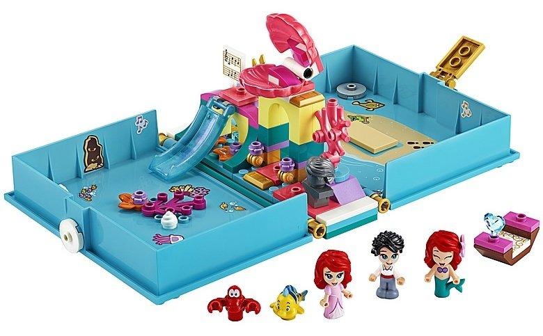 LEGO Disney 43176 Ariel's storybook