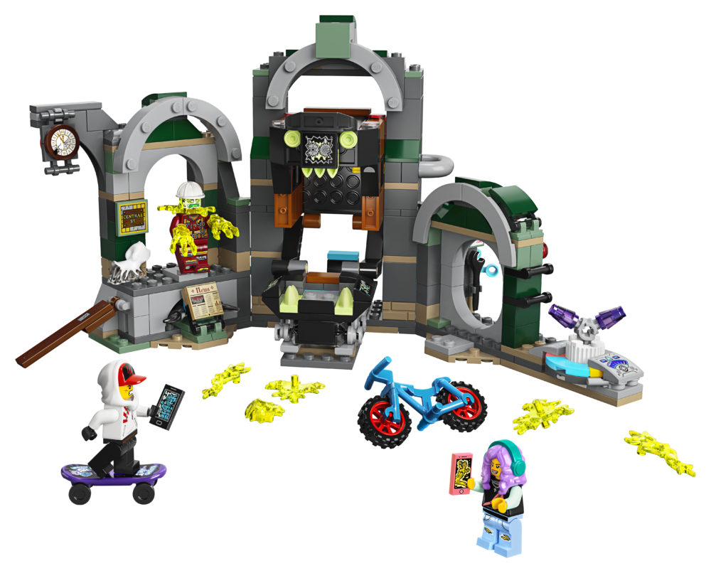 LEGO HIDDEN SIDE 70430 NEWBURY UNDERGROUND STATION