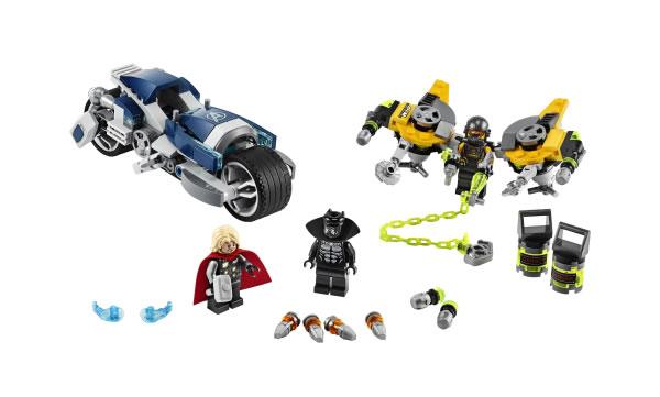 LEGO Marvel 76142 Avengers Speeder Bike Attack