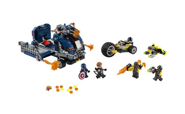LEGO Marvel 76143 Avengers Truck Takedown