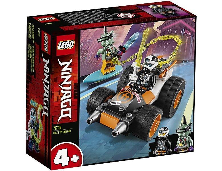 LEGO Ninjago 71706 Coles Speeder Car