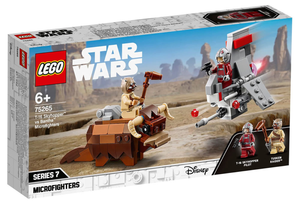 LEGO Star Wars 75265 T-16 Skyhopper Vs. Bantha Microfighter