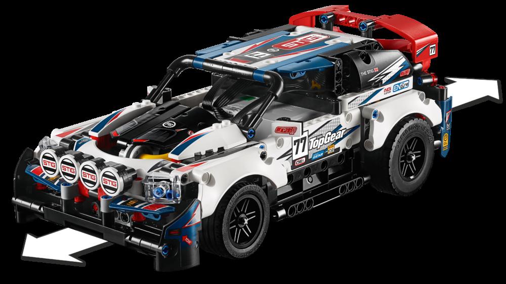 LEGO Technic 42109 App Controlled Top Gear Rally Car