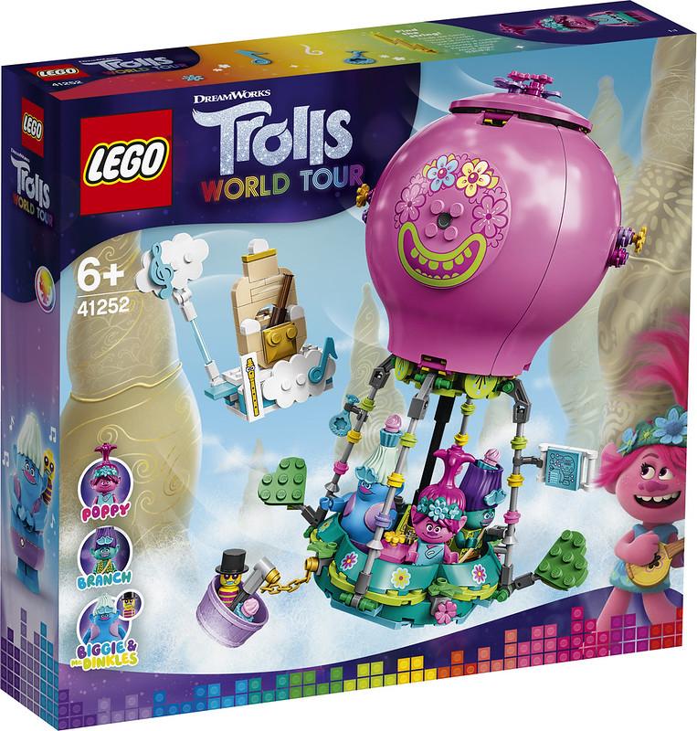 LEGO Trolls 42152 Poppy's Hot-Air Balloon Adventure