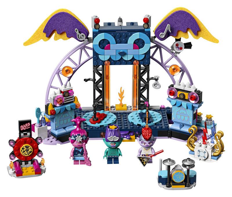 LEGO Trolls 42154 Volcano Rock City Concert