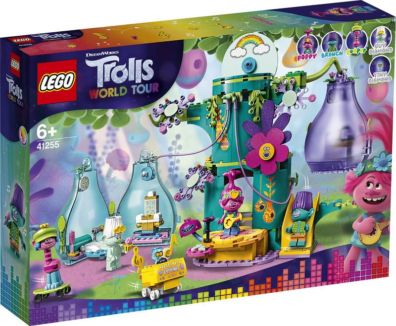 LEGO Trolls 42155 Pop Village Celebration
