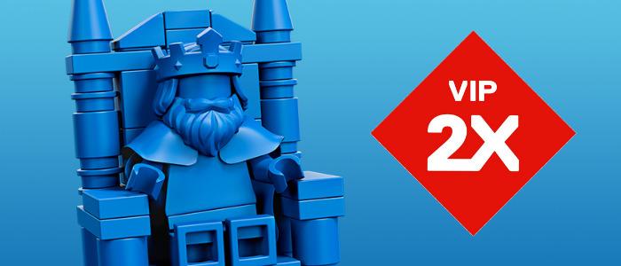 LEGO VIP dubbele punten