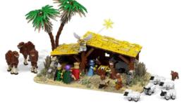 [Bouwinstructies] LEGO kerststal MOC