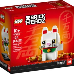 LEGO BrickHeadz 40436 Lucky Cat