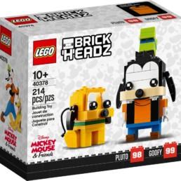 LEGO BrickHeadz 40378 Pluto & Goofy