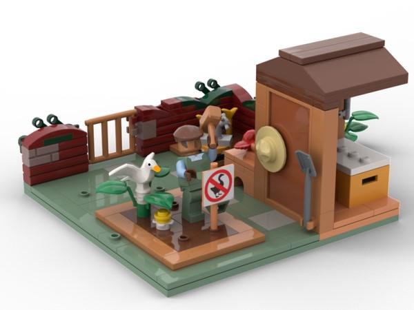 LEGO Ideas Untitled Goose Game
