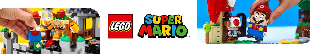 LEGO Super Mario banner
