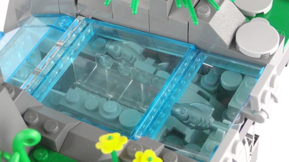 LEGO Ideas Working Waterfall