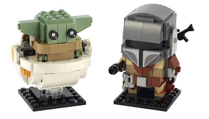 LEGO BrickHead 75317 The Mandalorian and The Child