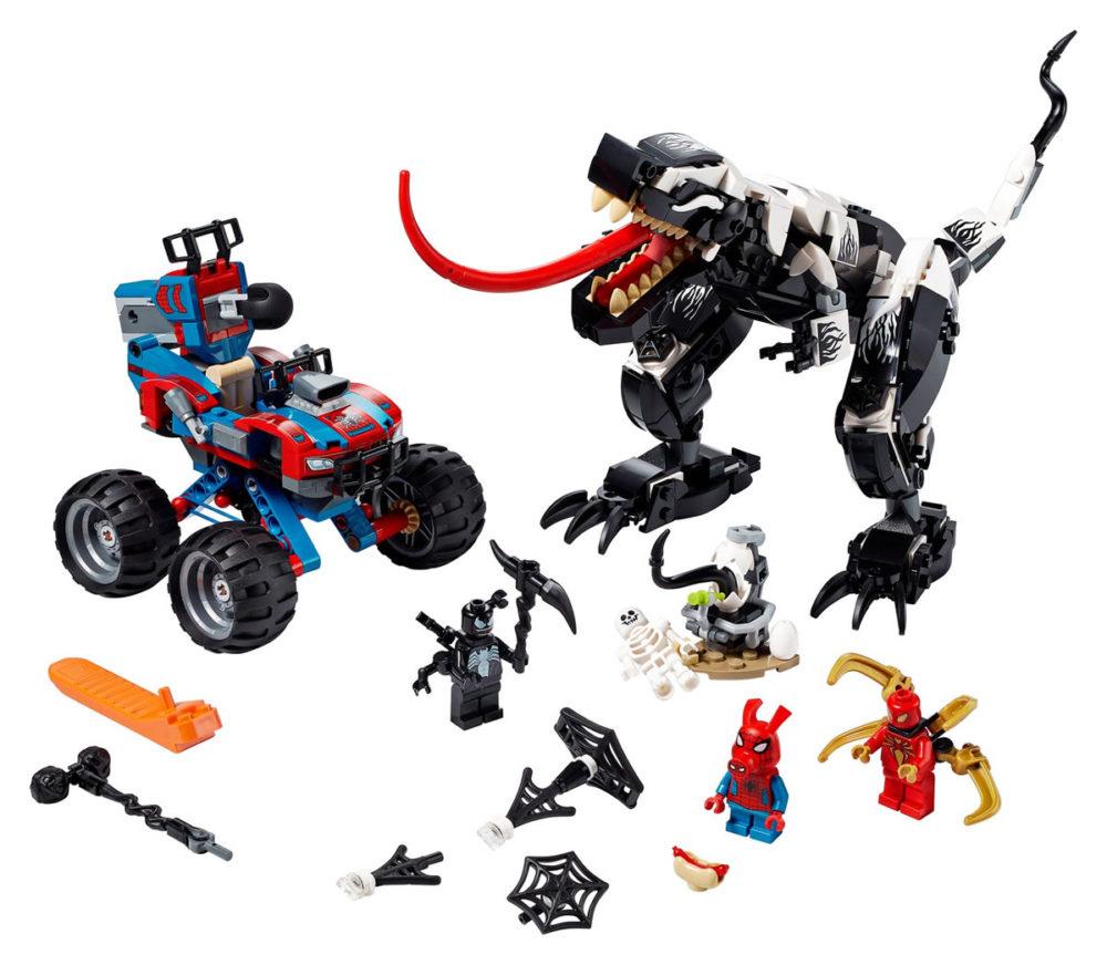LEGO Marvel 76151 Venomosaurus Ambush
