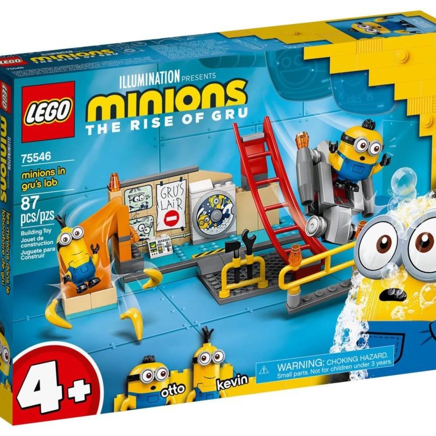 LEGO Minions 75546 Minions in Gru's Lab