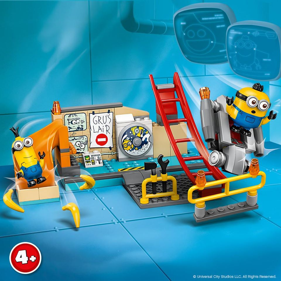 LEGO Minions 75546 Minions in Gru's Lab Building Kit