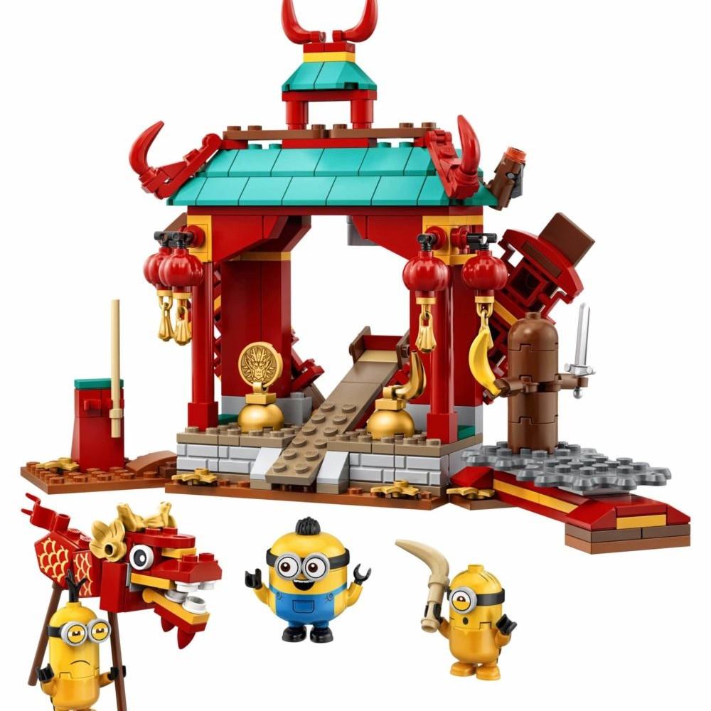 LEGO Minions 75550 Minions Kung Fu Battle