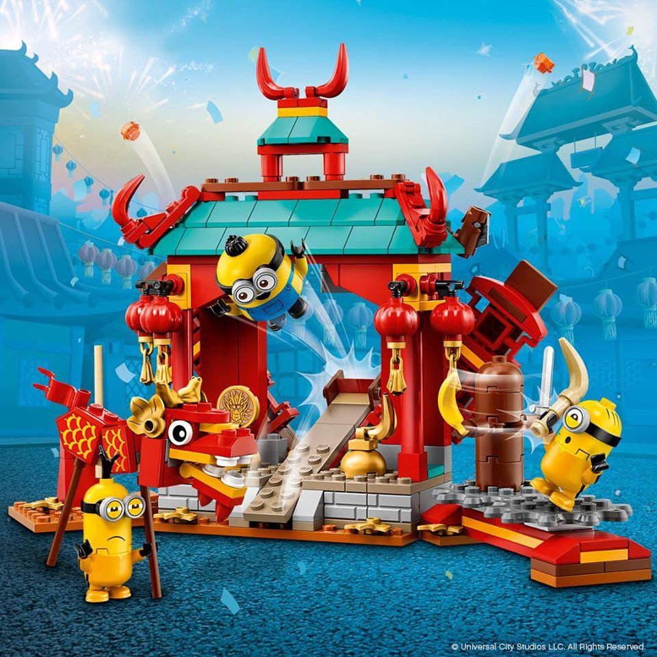 LEGO Minions 75550 Minions Kung Fu Battle Building Kit