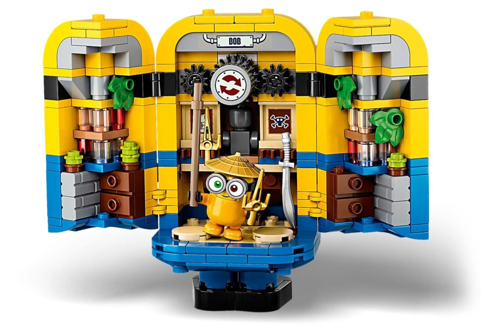 LEGO Minions 75551 Brick-Built Minions and Their Lair
