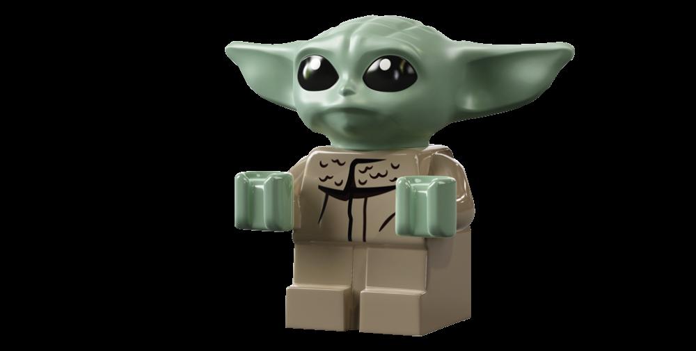 LEGO Star Wars 75292 The Razor Crest - Baby Yoda