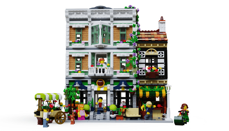 LEGO Ideas Bricks and Bloom
