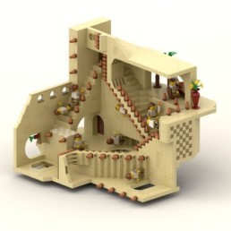LEGO Ideas Relativity (M. C. Escher)
