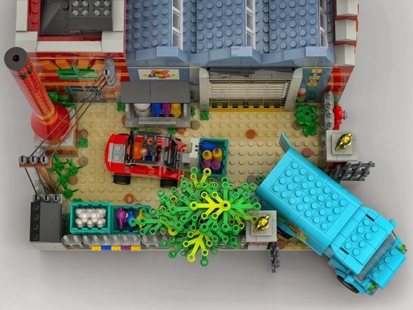 LEGO Ideas The Teddy Bear Factory