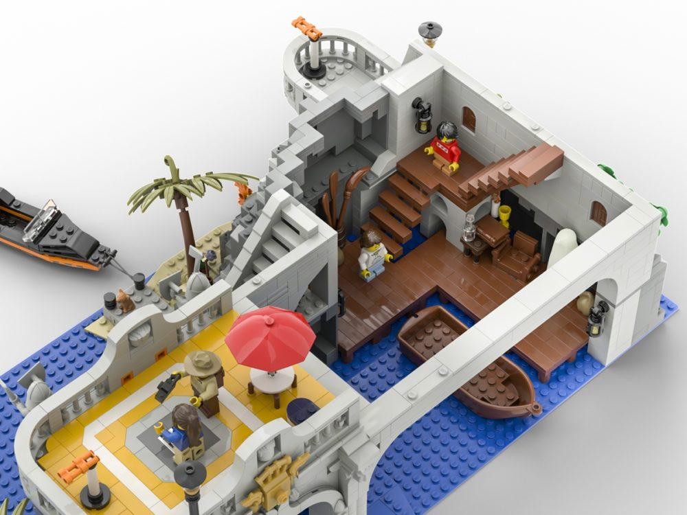 LEGO Ideas The Lighthouse Ghost