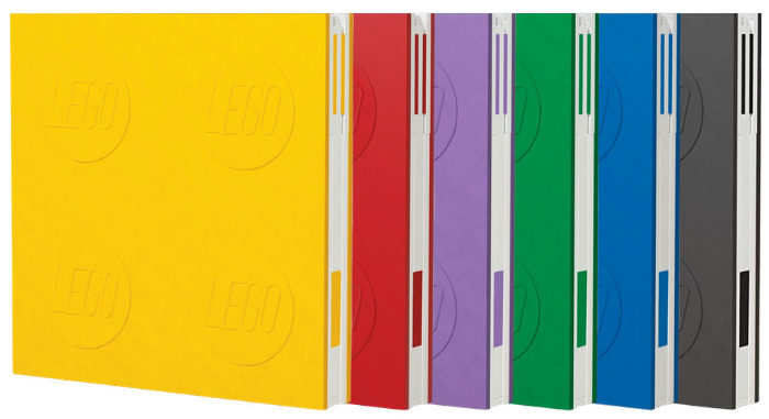 LEGO 2.0 Locking Notebooks