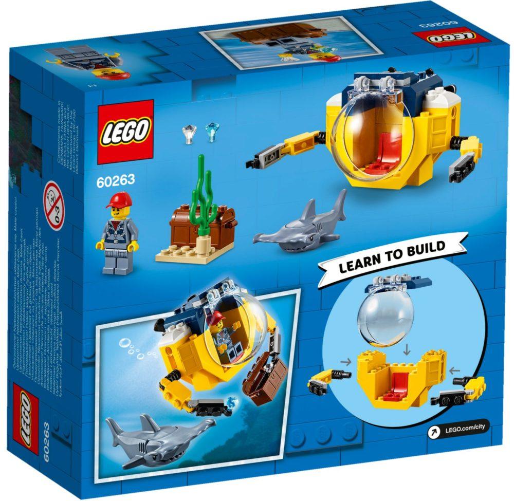 LEGO City 60263 Ocean Mini Submarine