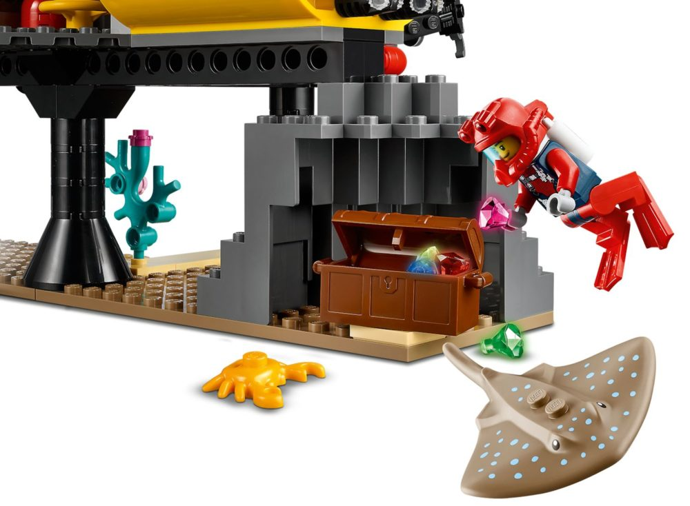 LEGO City 60265 Ocean Exploration Base