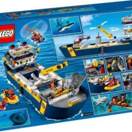 LEGO City 60266 Ocean Exploration Boat