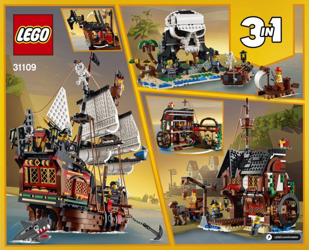 LEGO Creator 31109 Pirate Ship