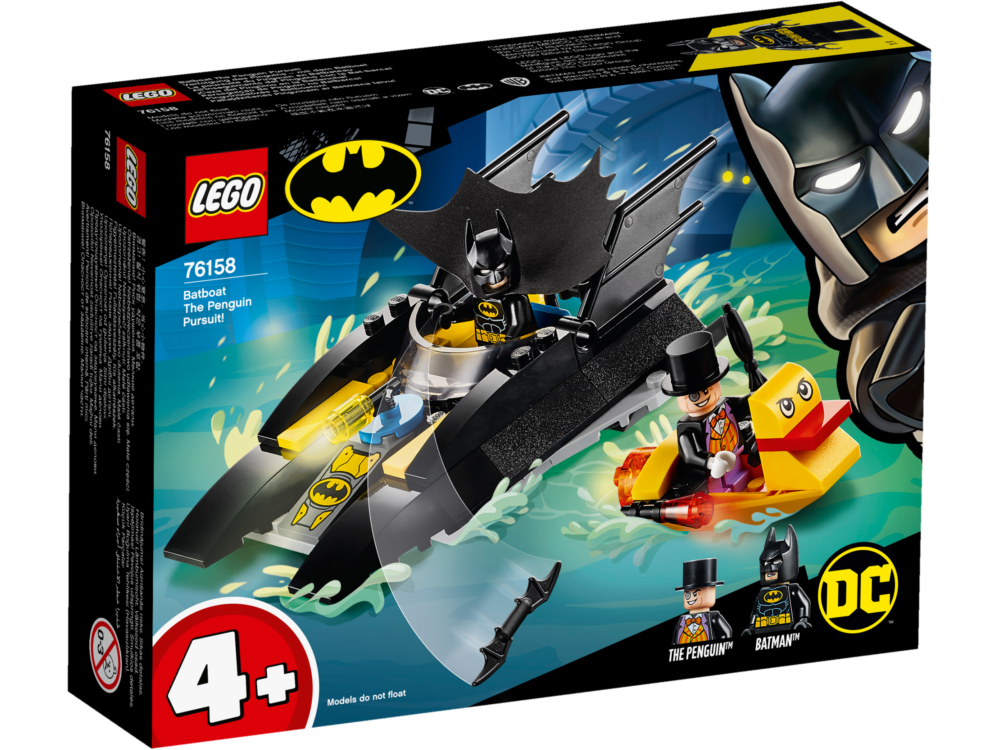 LEGO DC 76158 Batboat Penguin Pursuit