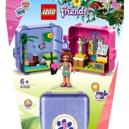 LEGO Friends 41436 Olivia's Jungle Cube - Nursery
