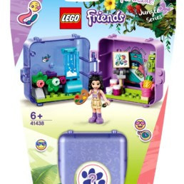 LEGO Friends 41438 Emma's Jungle Cube - Art Studio
